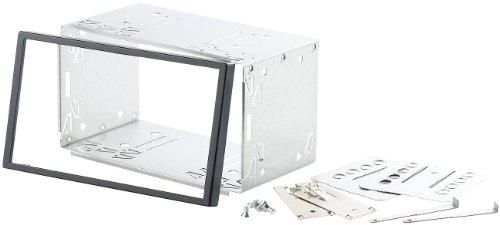 Creasono-Universal-2-DIN-Einbaurahmen-mit-Blende-und-Montagematerial