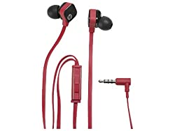 HP H2300 In-Ear Stereo Headset (Red/Black)