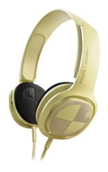 Philips SHO3300BEACH O Neill Cruz Headband Headphones w/3.5mm Jack (Yellow)