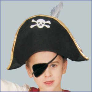 Dress Up America Pirate Hat