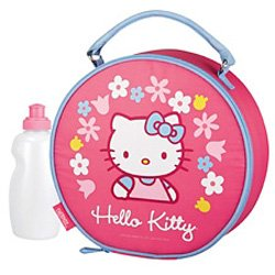 Hello Kitty Round lunchbox/lunchbag insulated