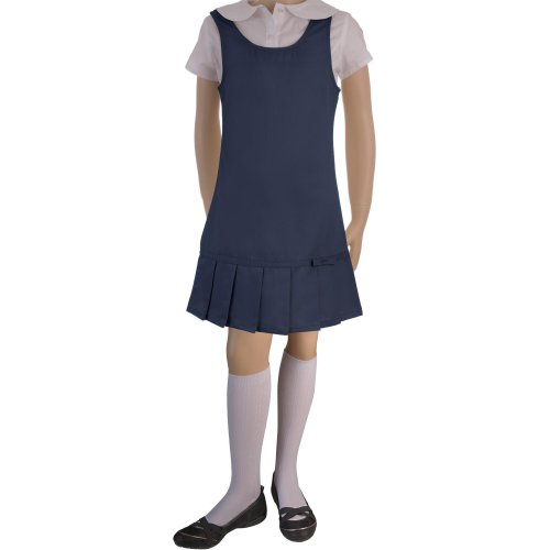 Girls School Uniform Jumper Navy Blue Clothing