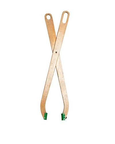 Mili Designs Large Wooden Scissors, Beige