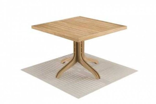 Spirit Song Large Square Wooden Dining Tables