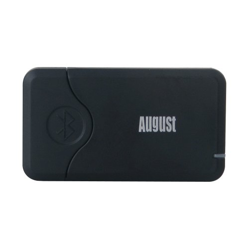 August Mr240B Bluetooth Audio Receiver For Sound Systems - Bluetooth Wireless Music Adaptor For Home Stereo / Headphones / Portable Speakers / Apple / Iphone / Ipod Docks - Bluetooth Enable Your Audio Devices