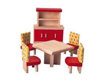 Imagen de Plan Toys Doll House Dining Room - Estilo Neo