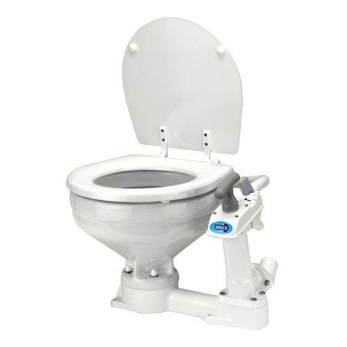 Jabsco Manually Operated Marine Toilet - Compact Bowl