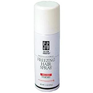 Salon Grafix Professional Freezing Hair Spray, Styling Mist, 1.5 oz. by Salon Grafix