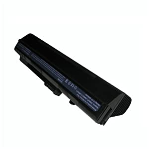 Aspire One Battery 9-cell 7900mAh Netbook Battery Lasts up to 12:10 Hours Longer Than the 3 or 6 Cells Acer Aspire One Battery - Color: Black