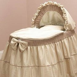 Bassinet Liner Skirt And Hood front-205170
