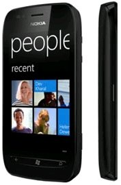 Nokia Lumia 710 5MP Camera, 3G, 8GB Memory, 1.4 GHz Processor, 7.5 Mango, Wi-Fi, Micro SIM, Factory Unlocked World Mobile Smartphone - Unlocked Phone - No Warranty - Black
