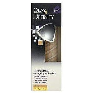 Olay Definity Colour Enhancer Anti-Ageing Moisturiser (Feuchtigkeitscreme) - Medium