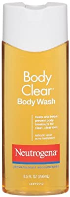 Neutrogena Body Clear Body Wash for Clean, Clear Skin, 8.5 Ounce