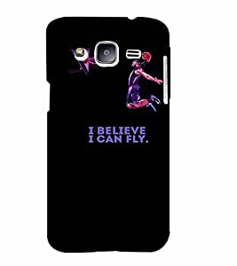 PrintVisa Quotes & Messages Attitude Fly 3D Hard Polycarbonate Designer Back Case Cover for Samsung Galaxy J2