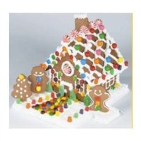 Create-a-treat Gingerbread House Kit, Deluxe Model, (Decorative Outer Case As Seen in Picture)