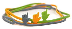 Fred and Friends Fingerprint Bookmark, Assorted Colors