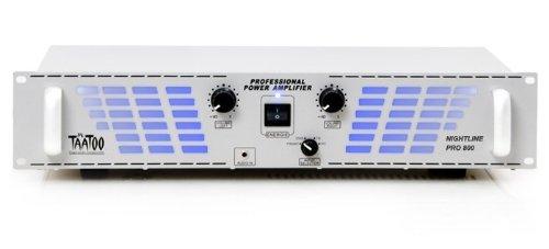 2400W PA-Verstärker Endstufe Nightline Pro 800