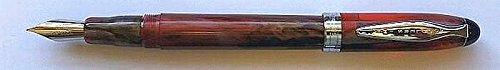 Noodler's Ink Ahab-Penna stilografica Iroquois pistone
