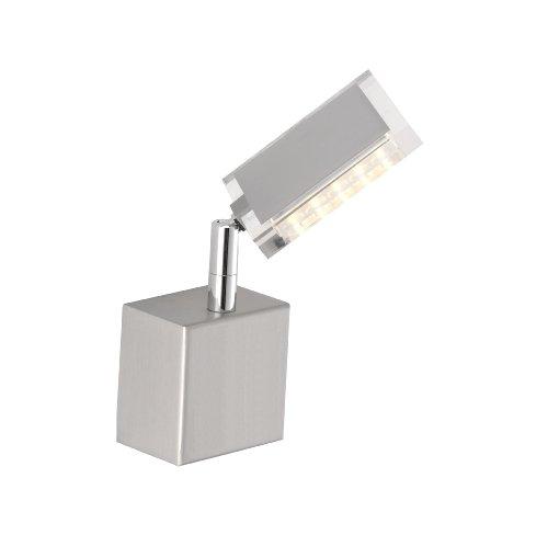 pneuhaus-9135-55-lampara-de-pared-incluye-bombillas-led-7-x-7-x-18-cm-1-bombilla-de-6-w-color-acero