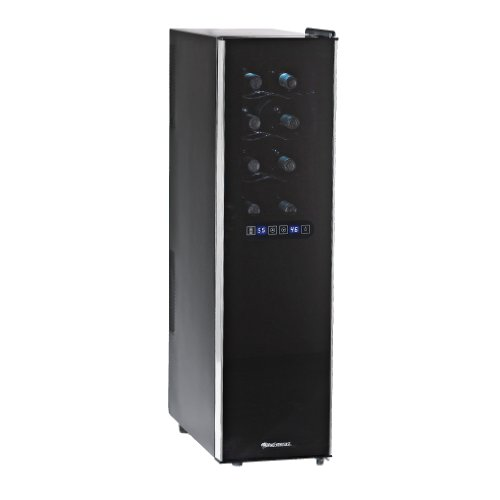 Check Out This Wine Enthusiast 18-Bottle Touchscreen Wine Refrigerator (Slimline - 2-Temp)
