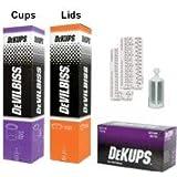 DeVILBISS DeKUPS 24 oz STARTER KIT-HVLP Spray Paint Gun