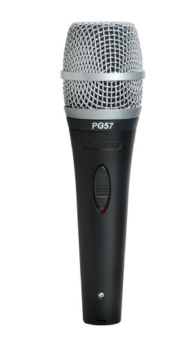 Shure Pg57-Lc Instrument Dynamic Microphone, Cardioid