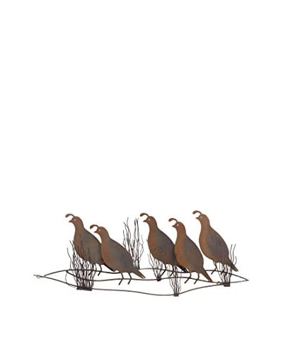 C'Jere By Artisan House The Covey Metal Wall Installation, Multi