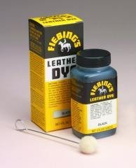 Fiebings Leather Dye Black 4oz