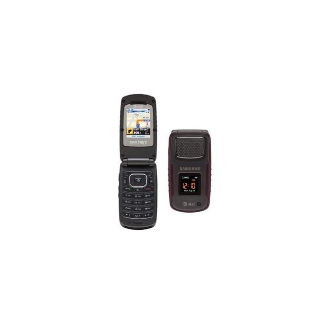 Samsung SGH A837 Rugby unlocked cell phone rugged Burgundy
