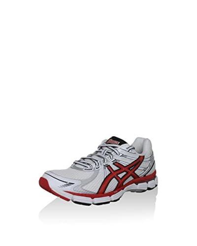 Asics Scarpa Sportiva Running Gt-2000 (2E) [Bianco/Rosso/Nero]