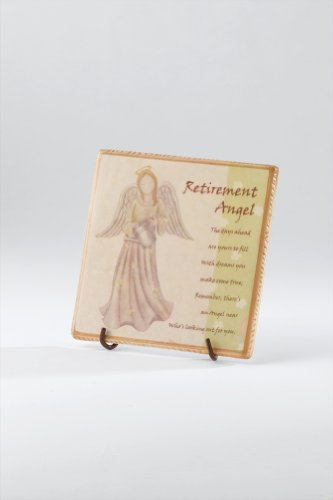 Cheapest Price! Retirement Angel Ceramic Tile With Poem