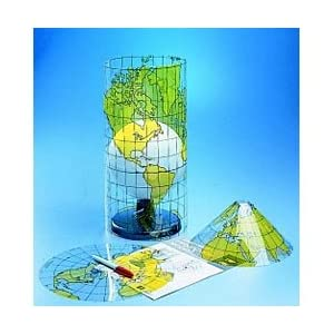 Model, Map Projection, Hubbard Scientific: Science Lab