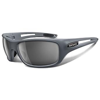 (超值)Revo Guide Round Polarized Sunglasses 偏光太阳镜 黑框黑片 折上折 $103.23
