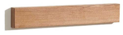 Cherry M.O.C. Board 12 Inch Wood Magnetic Knife Holder or Magnetic Knife Strip