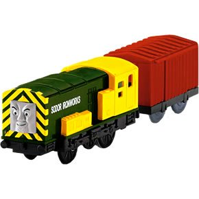 Thomas &amp; Friends TrackMaster: Iron Bert and Cargo Car