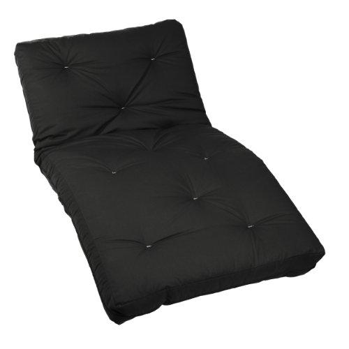 Buy Bargain Mozaic Twin Size 10-Inch Futon Mattress, Black