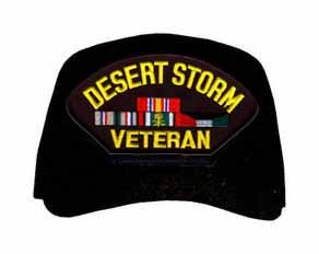 Amazon Com Desert Storm Veteran With Ribbons Ball Cap