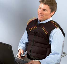 8-motor Massage Vest