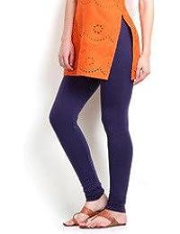 Linq India Women's Cotton Legging_purple