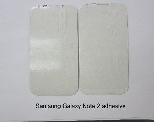 Adhesive for Samsung Galaxy Note 2 Touch Screen Digitizer Glass AT&T i317 Verizon i605 Tmobile t889 Sprint l900 Touch Screen Digitizer Adhesive