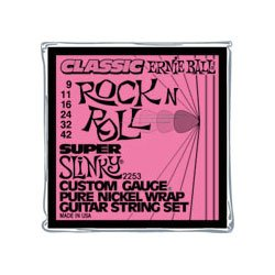 Ernie Ball 2253 Classic Rock N' Roll Super Slinky