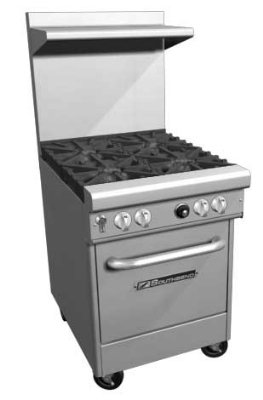 Standing Pilot Gas Range front-514530