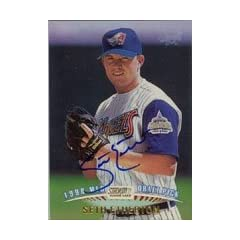Seth Etherton Anaheim Angels 1998 Topps Stadium Club Autographed Hand Signed Trading...