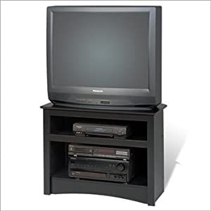 Amazon Black 32 Corner TV Stand For Flat Screen Or