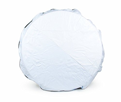 Camco 45345 Vinyl Spare Tire Cover (28 inches White) 28 inches (Camco Spare Tire Cover compare prices)