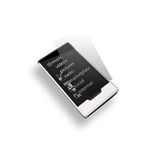 [Skque]Microsoft Zune HDフィルム シール 液晶保護 スクリーンプロテクター クリーニングクロス付
