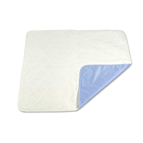 Sahara Extra-Absorbent Washable Underpad,blue and White, 34x36 in., Each (Washable Bed Pads compare prices)
