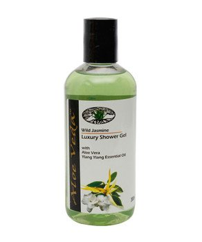 Aloe Veda Luxury Shower Gel Wild Jasmine 300ml