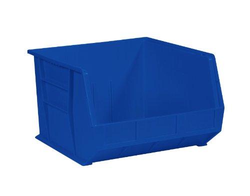 Aviditi BINP1816B Plastic Stack and Hang Bin Boxes, 18