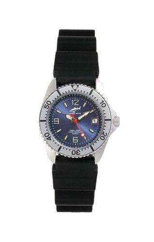 Chris Benz One Lady CBL-B-SI-KB Reloj elegante para mujeres Reloj de Buceo